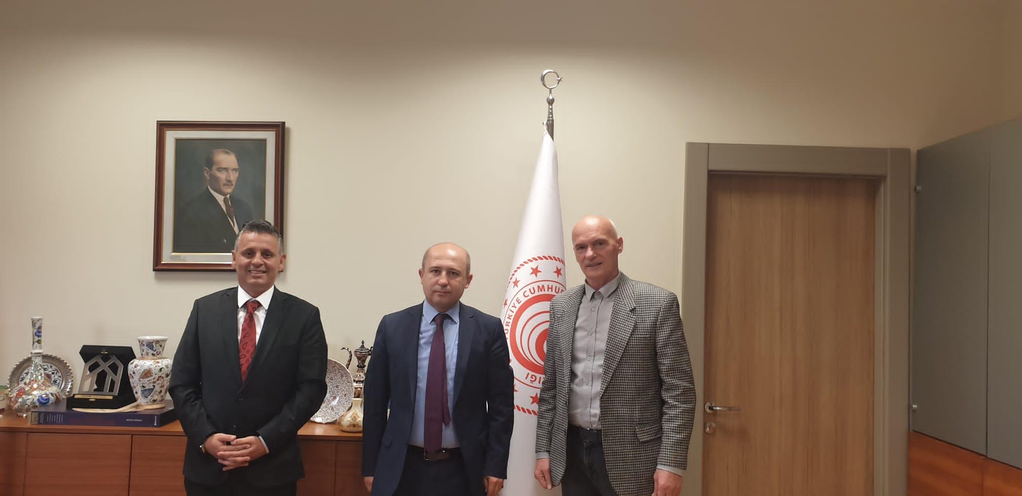 Sakarya Ticaret Borsası Heyetinden Ankara Ziyareti