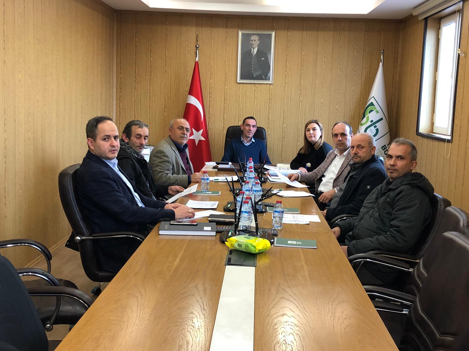 6 ve 7. Meslek Komitesi Toplantıları İcra Edildi
