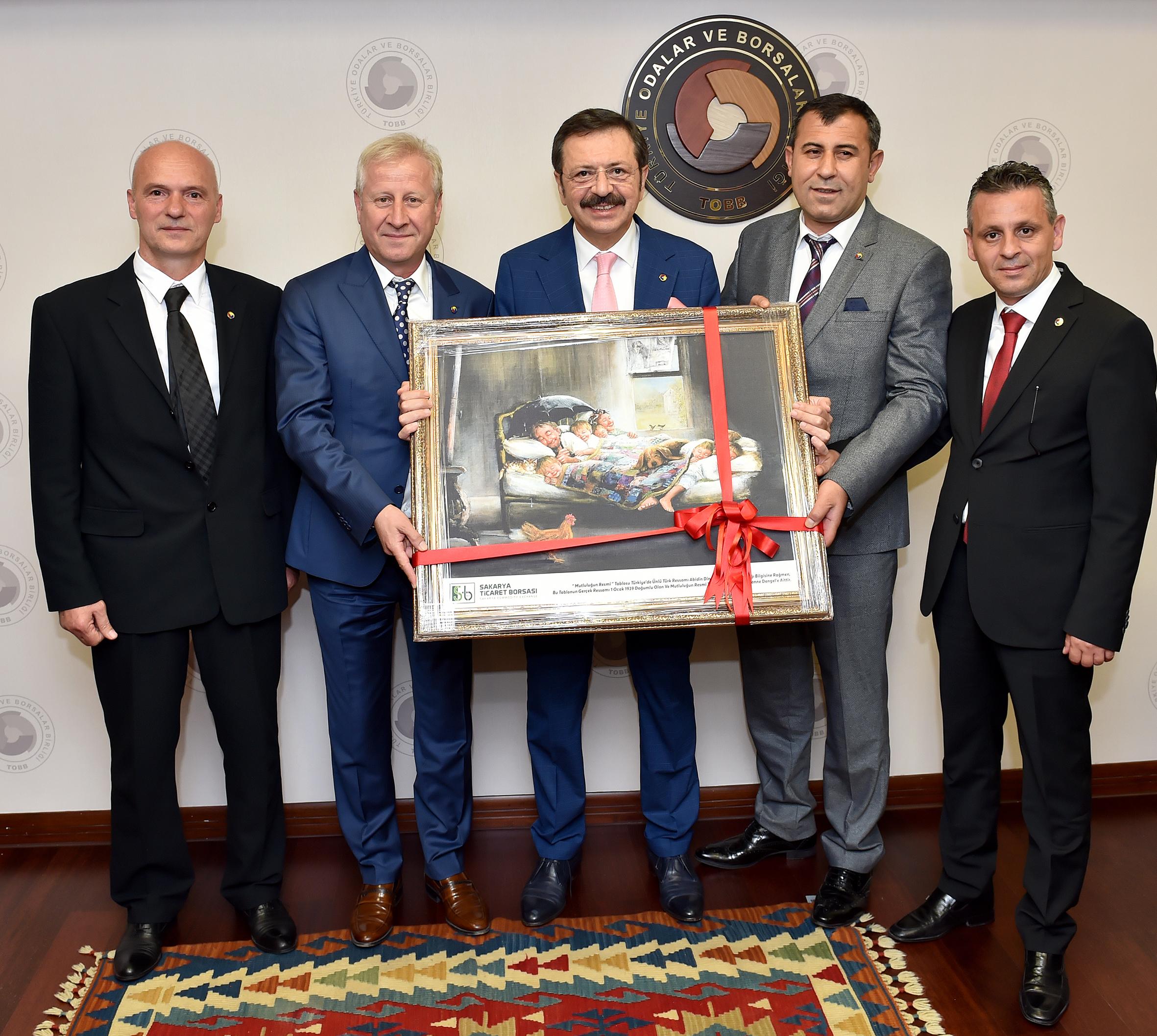 Marmara Bölgesi Oda/Borsa Başkanları TOBB'da Buluştu