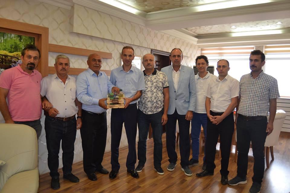 Sakarya Ticaret Borsası heyeti Samsun Ticaret Borsası'na Süpürge Teknik Ziyareti Gerçekleştirdi