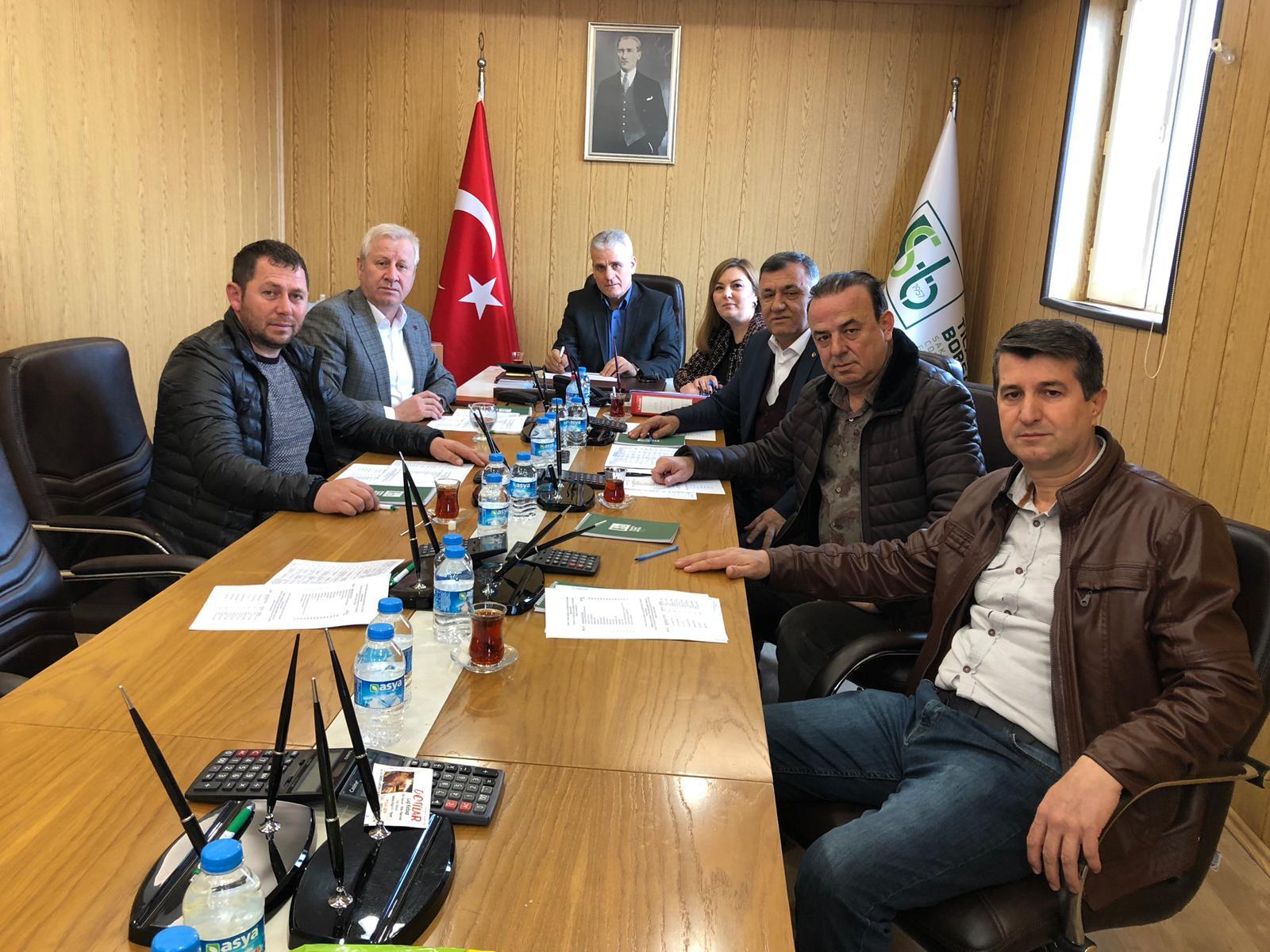2,4 ve 5. Meslek Komitesi Toplantıları İcra Edildi