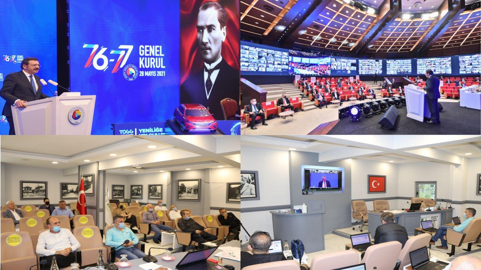 STB TOBB 76. ve 77.Genel Kuruluna Katılım Sağladı