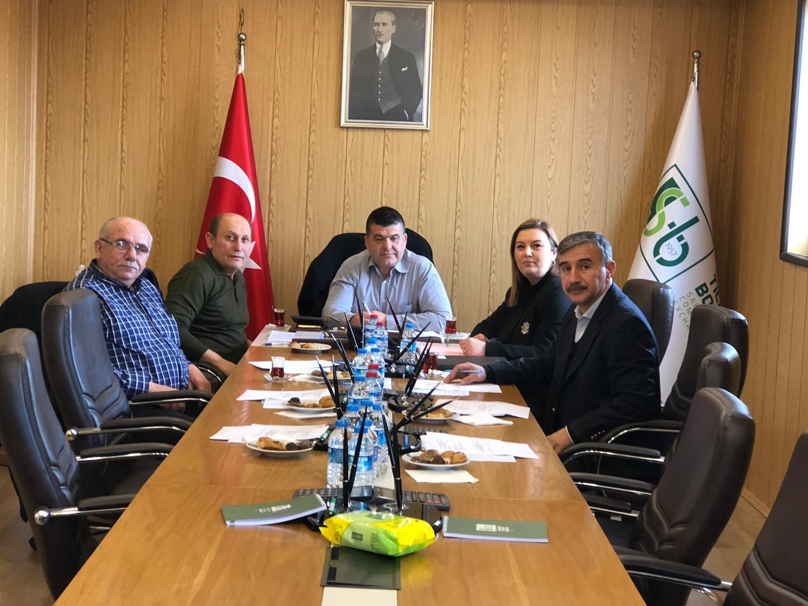 1. ve 3. Meslek Komitesi Toplantıları İcra Edildi