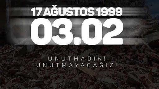 STB Yönetim Kurulu Başkanı Adem Sarı 17 Ağustos Depreminin Acıları Unutulmadı